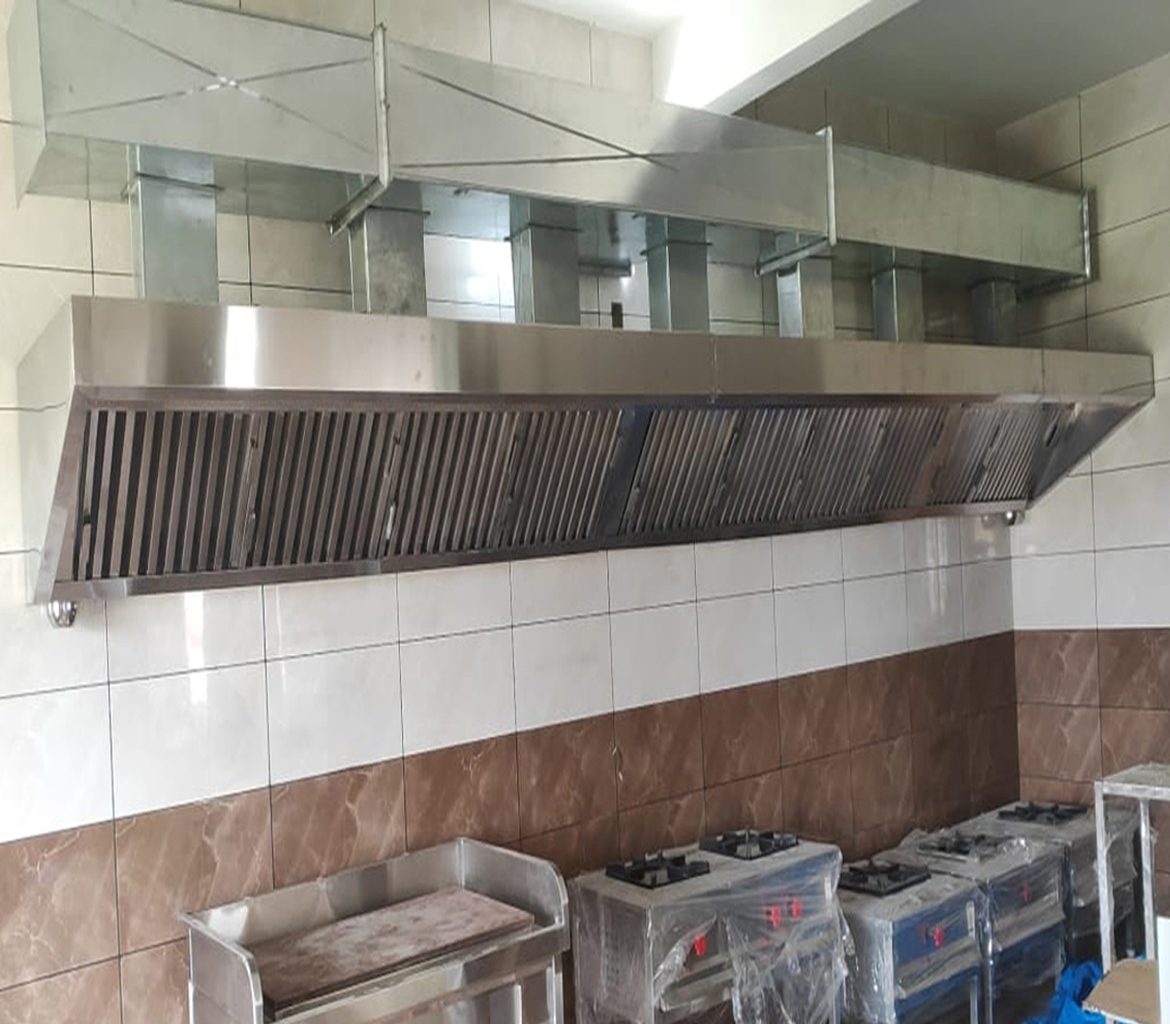 Commercial Kitchen Hood Installation in Bangalore | Gas Line