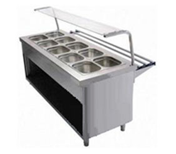 Bain Marie with Sneeze Guard Manufacturers Bangalore